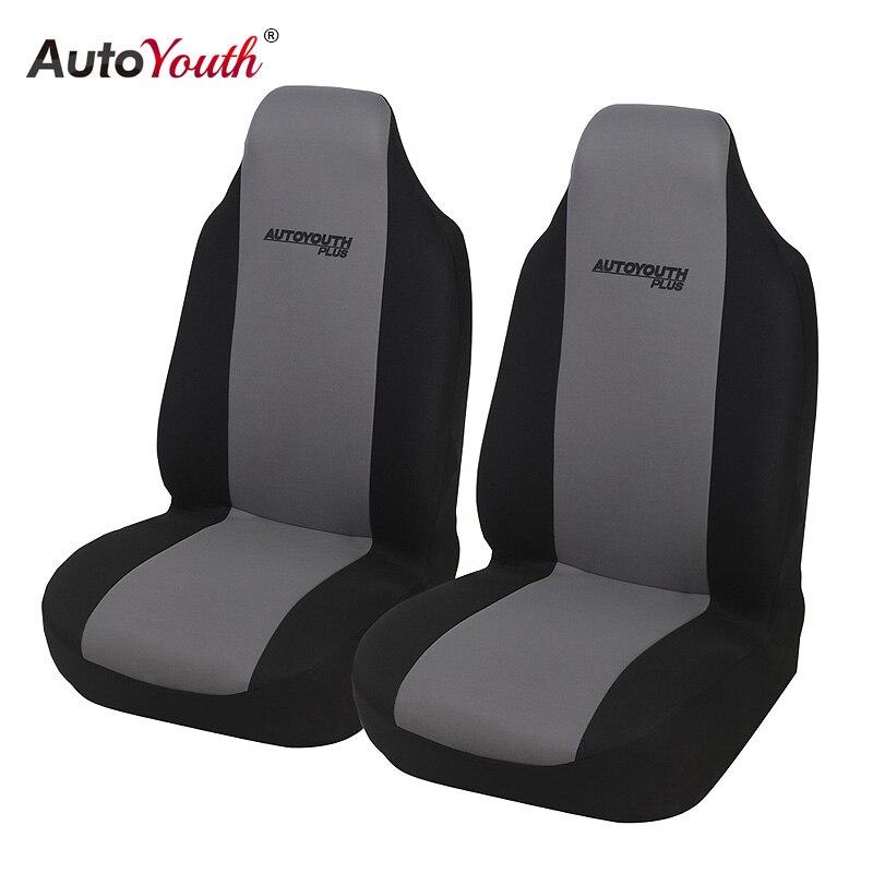 RENAULT MEGANE III 09/> Seat Covers Waterproof Nylon Front Pair car Black Protect
