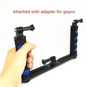 Image 3 - Jadkinsta Handheld Rig Camera Handheld Stabilizer Steadicam for Gopro Smartphone DSLR Tray Mount for Canon Nikon for Sony Camera