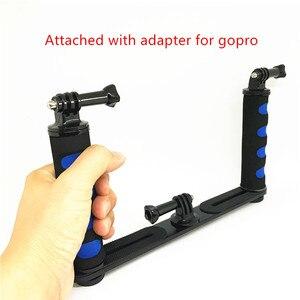 Image 3 - Jadkinsta stabilisateur portatif de caméra de plate forme pour Smartphone Gopro support de plateau DSLR pour Canon Nikon pour appareil photo Sony