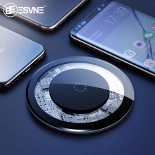 ESVNE 5W Qi Wireless Charger For iphone X XS MAX XR Samsung Fast Phone Xiaomi Huawei Motorola LG