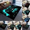 Игровой контроллер для украшения ковра, Домашний напольный коврик для спальни, кухни, гостиной, ванной, коридора, дверной коврик