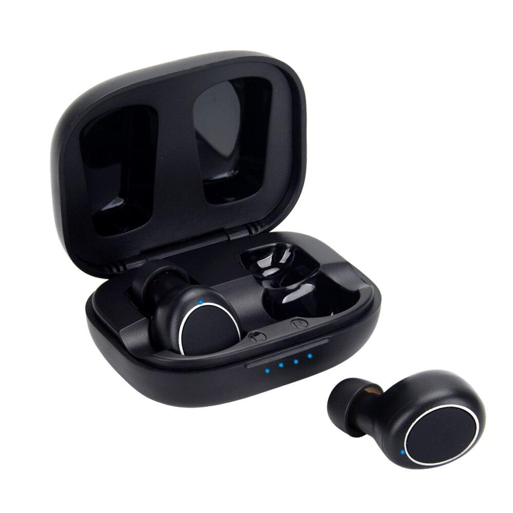 Mornlex mt05 tws bluetooth 5.0 fones de ouvido estéreo sem fio botão controle cancelamento ruído jogos esportes à prova dheadset água fone