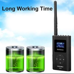 Image 5 - RETEKESS FT11 0.3W Wireless FM Broadcast Transmitter MP3 Portable for Church Car Meeting Support TF Card AUX Input
