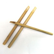 3 pc Single Head Slanted Bamboo Pens Arts Crafts Clay Sculpting Tools Pottery Carving Tool Set  Ceramics Modeling Hot