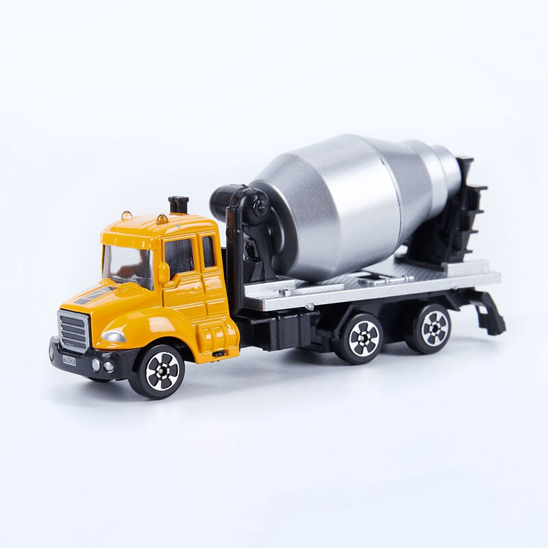 Mini Toys Cars Model Alloy Plastic <font><b>Diecasts</b></font> Engineering Car Model Display Stand Gift For Kids A1 image