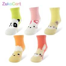 5 Pair lot Kawaii Pattern Cotton Kids Socks Baby Breathable Boys Girls Socks For Children Sock