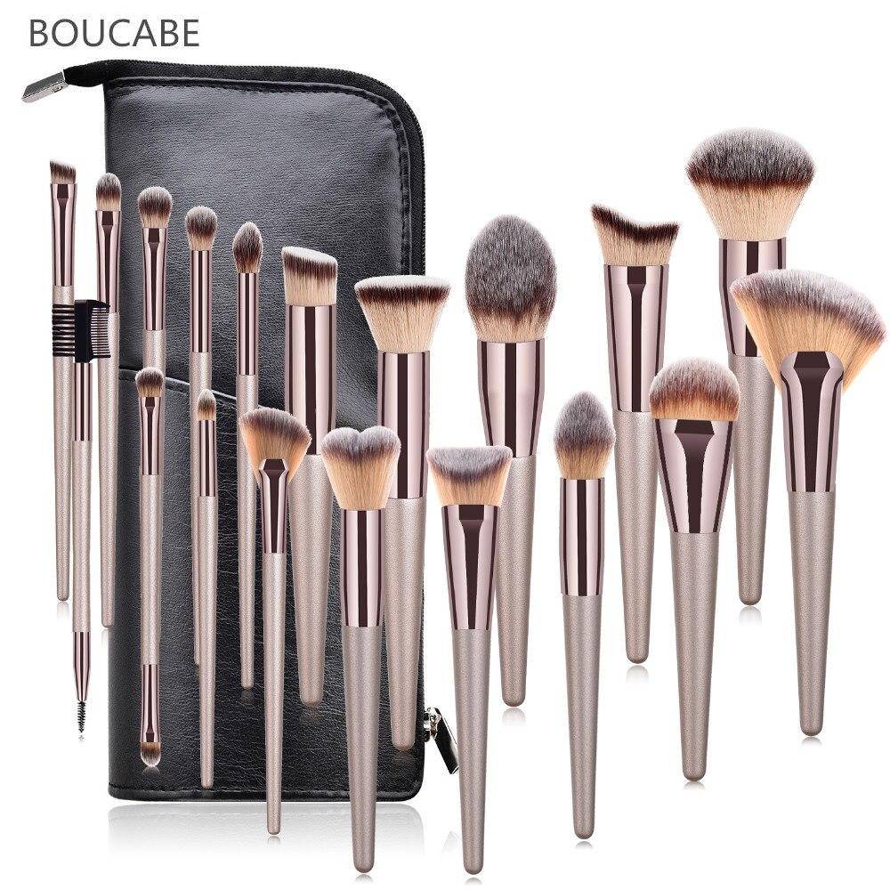 New Makeup Brush Set Cosmetic Foundation Powder Eye Shadow Foundation Blush Blending Brushes Beauty Tool Maquiagem 6/9/10/19pcs