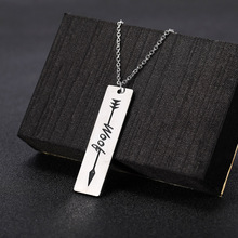 Skyrim Fashion Meow Woof Word Pendant Necklace Women Animal Sound Stainless Steel Choker Chain Custom Jewelry Gift