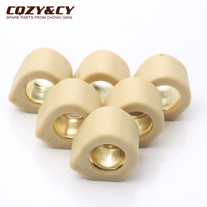 6PC Racing Quality Roller Weights 23x18mm 20 Grams For Triton Baja 250 400 Outback 300/400