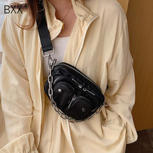 [BXX] Casual Oxford Cloth Crossbody Bags For Women 2020 Spring Mini Shoulder Messenger Handbags Female Chain Phone Purses HL572(China)