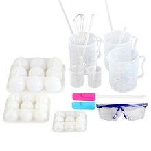 Набор для изготовления мыла в виде бомбы ванны сферические силиконовые