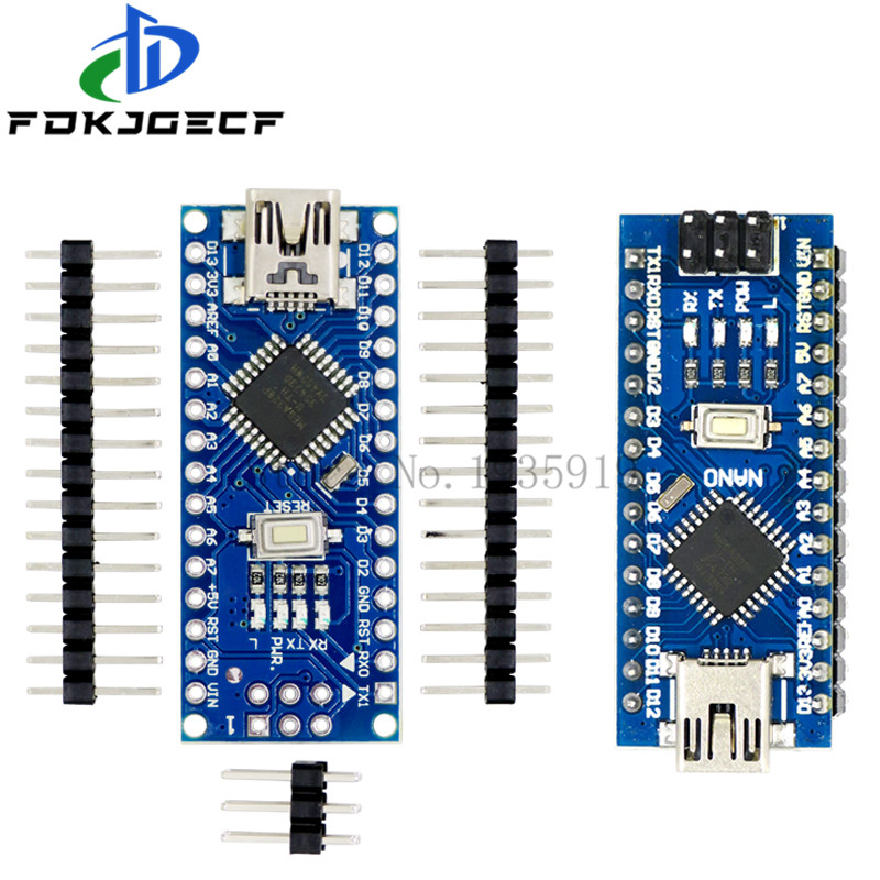 1PCS Nano 3.0 Controller Development Board CH340 driver ATMEGA328 ATMEGA328P With the bootloader for arduino With Mini USB Cable