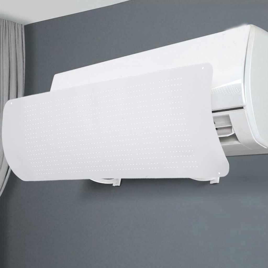 antisoplado directo para parabrisas de aire acondicionado direcci/ón del viento deflectores de aire telesc/ópicos para el hogar y la oficina Oyria Deflector de aire acondicionado adhesivo ajustable
