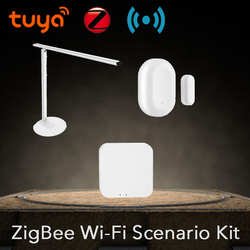 Tuya bezprzewodowa ładowarka USB Port ładowania inteligentny telefon lampa stołowa ZigBee Hub czujnik drzwi DIY scenariusz zestaw bezpieczeństwa