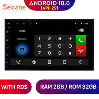 "Seicane 7"" Android 10.0 2DIN RAM 2GB Universal Car GPS Navi Stereo Unit Player for Nissan TOYOTA Hyundai Kia suzuki RAV4 Honda"