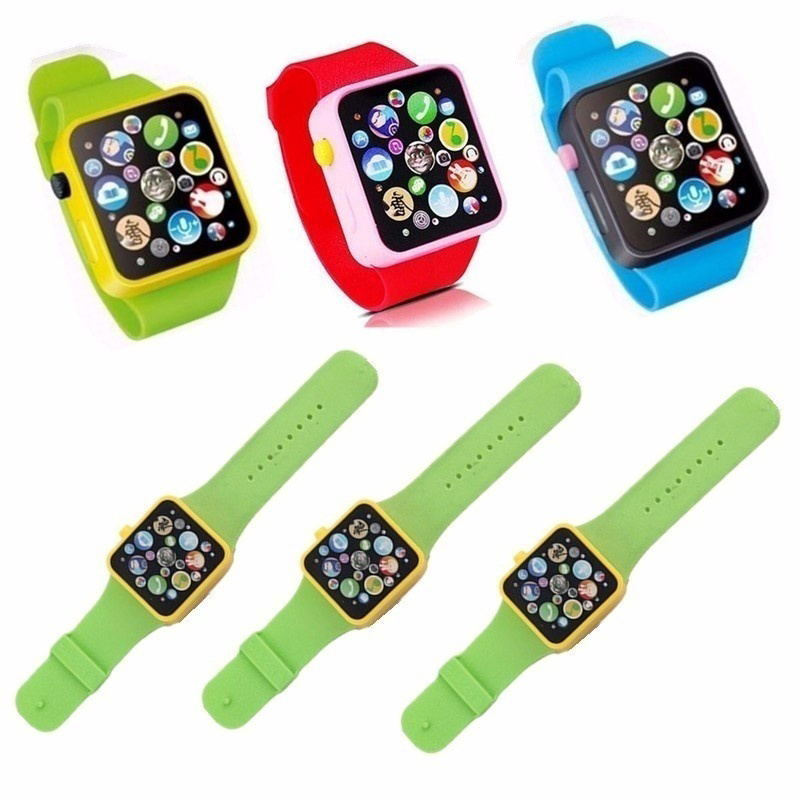 Kids Toy Plastic Digital Watch For Kids Boys Girls High Quality Toddler Smart Watch For Children Toy Watch Gift