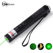 Зеленая лазерная указка высокой мощности 301 532nm яркий уличный