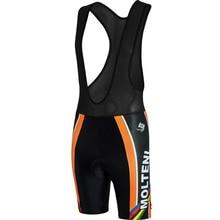 Colors Lines Molteni New Cycling Bib Shorts Black