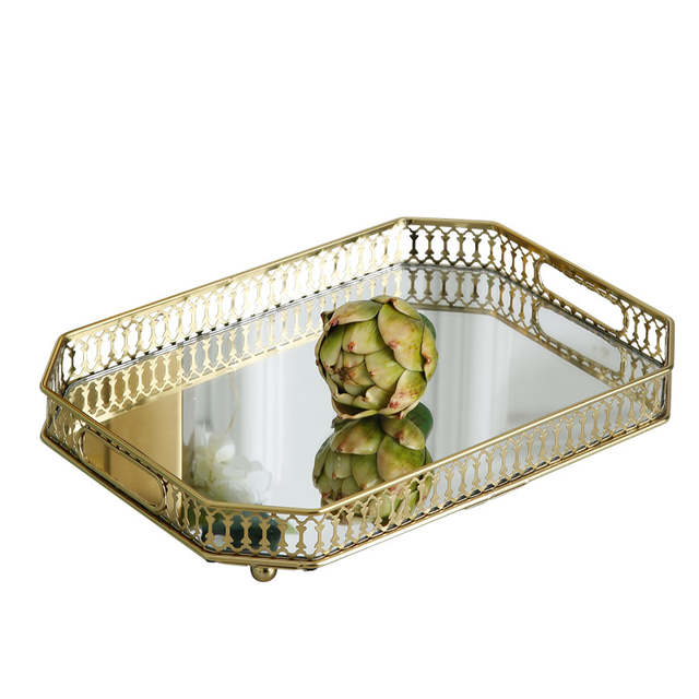 Living Room Coffee Table Decoration Tray Decoration European