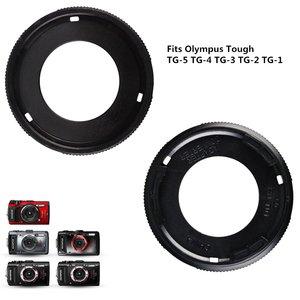 Image 4 - Filter Mount Adapter Ring lens cap keeper for Olympus TG 6 TG 5 TG 4 TG 3 TG 2 TG 1 TG6 TG5 TG4 TG3 TG2 TG1 Digital Camera