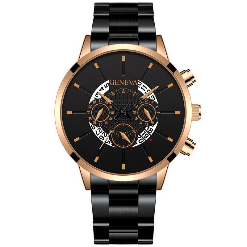 Watches Calendar Regalos Alloy Steel Quartz Fashion Luxury Men Male Wristwatches & Casual Stainless Relogio Rasculino  Gift