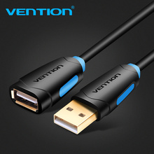 Cavo di prolunga USB 2.0 Vention cavo USB 2.0 da maschio a femmina sincronizzazione dati USB cavo di prolunga per caricabatterie USB per PC Laptop U Disk Mouse