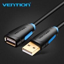 Удлинительный кабель Vention USB 2,0, кабель USB 2,0 «Папа мама», usb кабель для синхронизации данных, USB удлинитель зарядного устройства, кабель для ПК, ноутбука, U Disk Mouse