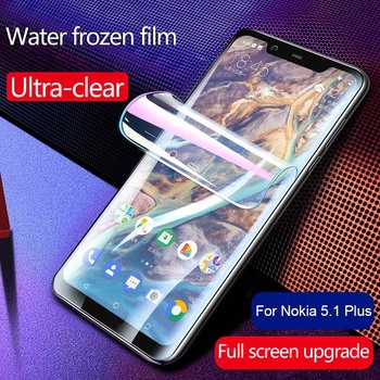 Hydrogel Film For Nokia 5.1 Plus 7.1 4.2 3.2 2.2 Screen Protector for LG V40 ThinQ V30 Plus Protective Film On Sony Xperia XZ4 protective arm clear screen film guard protector for sony xperia z2 transparent 6 pcs