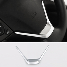 Button-Frame-Cover Honda Crv Trim Steering-Wheel Car-Styling for CR-V Abs-Plastic Matte