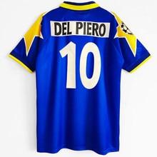 La Vecchia Signora 1996 para Retro jerséis camiseta personalizar Del Piero Gianluca Vialli bianconeri Le Zebre Juventuses
