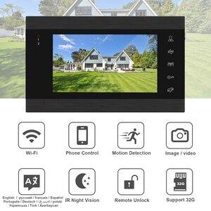 Image 2 - HomeFong Wifi Video Intercom Drahtlose Tür Sprechanlage mit Schloss 2 Kamera APP Remote Entsperren Echtzeit Control Access Control System