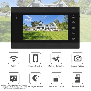 Image 2 - HomeFong Wifi Video Intercom Wireless Door Intercom with Lock 2 Camera APP Remote Unlock Real Time Control Access Control System