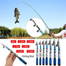 Retractable Fishing Rods 100-230mm Mini Portable Spinning Rod Fishing Tackle Tools Telescopic Folding Rods For Carp Fishing carp fishing tackle rod pod buzz bars for 3 fishing rods bank sticks holder 40cm