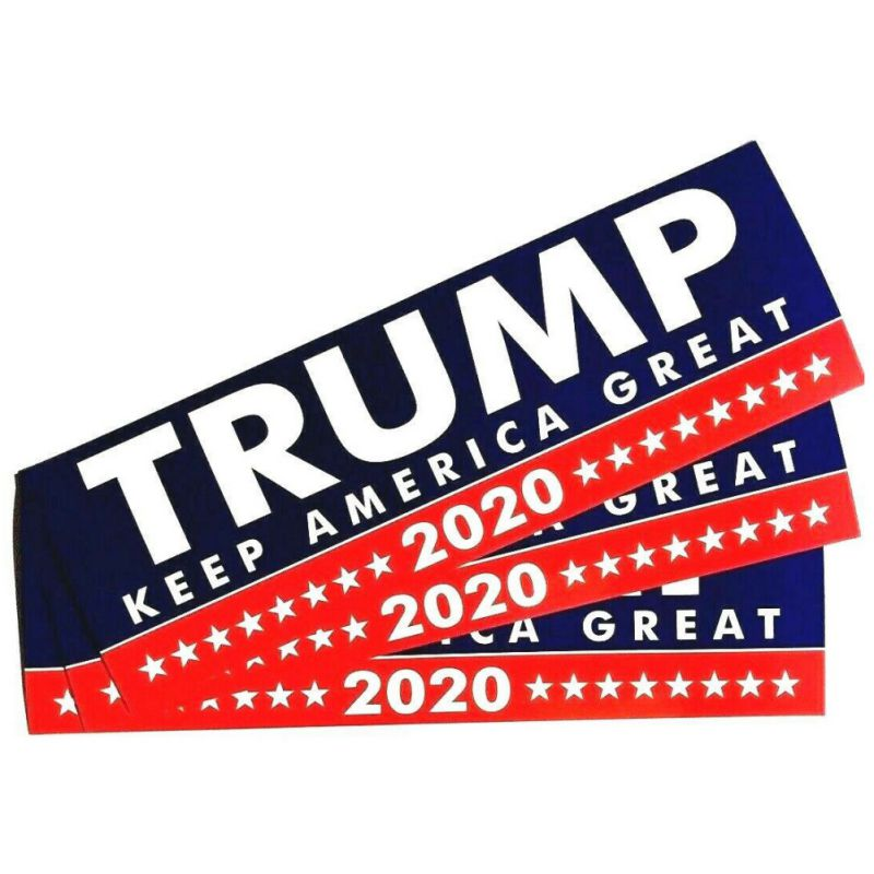 1pcs Trump  Keep America Great Decal For  United States Presidential Election New