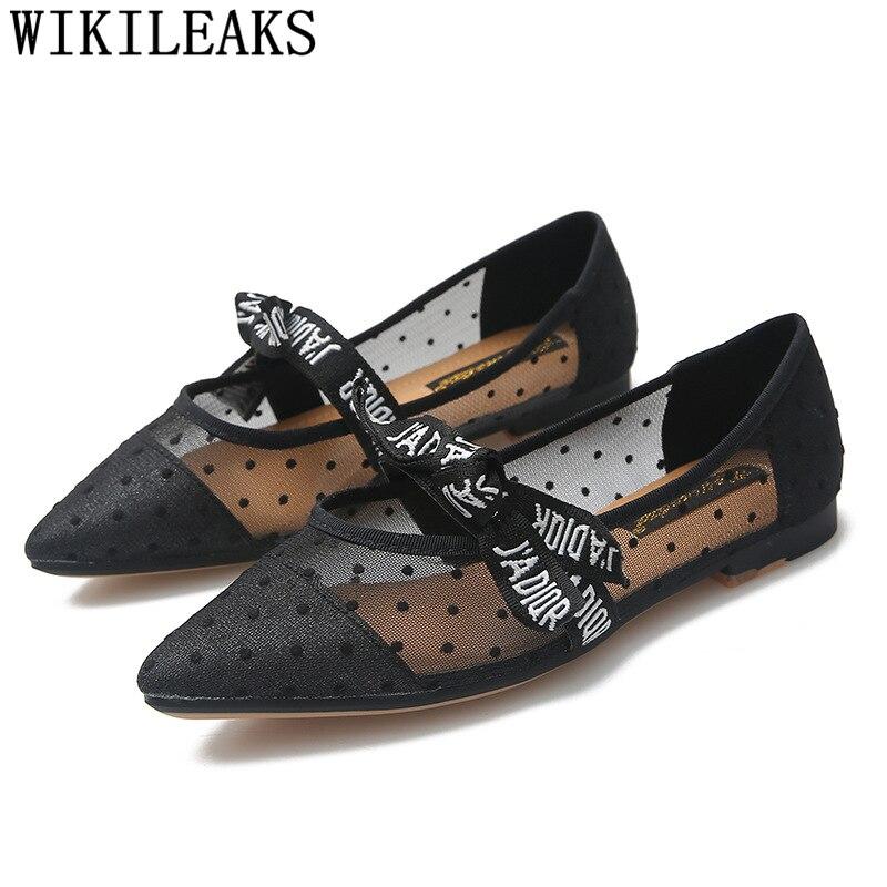 Vintage chaussures harajuku pointu appartements bout OTwXikuPZ