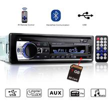 1 Din Car Radio Autoradio JSD-520 Auto Stereo 12v Bluetooth V2.0 Fm Aux Input Receiver 1din Car Audio SD USB Mp3 JSD 520