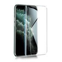 Protector de pantalla de alta calidad para IPhone, película de vidrio templado HD transparente para IPhone 6 6s 7 7s 8 8p X XR XS MAX 11 12 Pro, 2 uds.