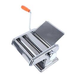Rvs Gewone 2 Blades Pasta Making Machine Handleiding Noodle Maker Handbediende Spaghetti Cutter H2