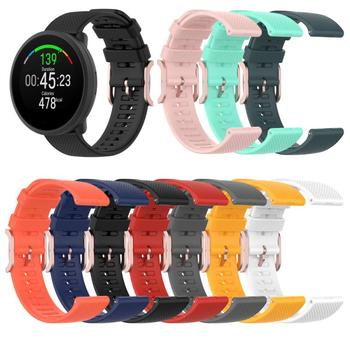 Silicone Strap For POLAR Smart Watch Band Watchband For POLAR Grit X/Vantage M Dot Pattern Replacement Bracelet Wristbands 22mm image