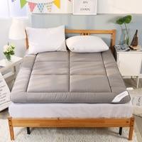 100% algodão espessamento dormir tapete tatami colchão almofada dobrado piso tapete cama esteiras dupla almofada para o quarto e escritório Colchões Móveis -