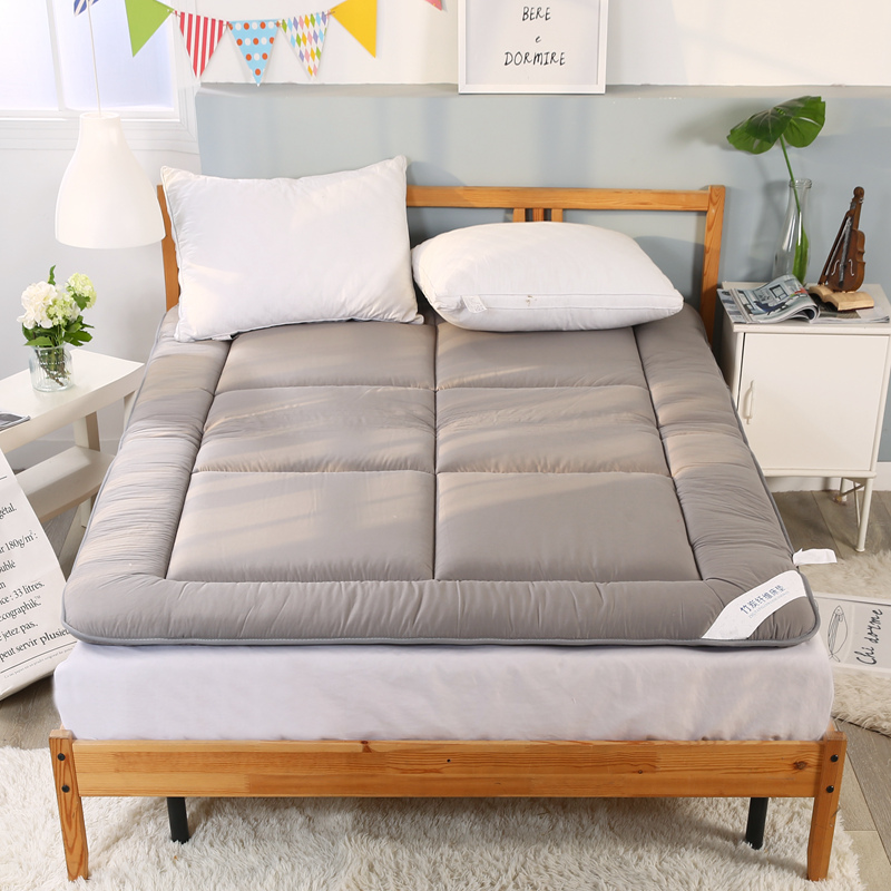 100% Cotton Thickening Sleeping Rug Tatami Mattress Pad Folded Floor Carpet Bed Mats Double Cushion For Bedroom And Office