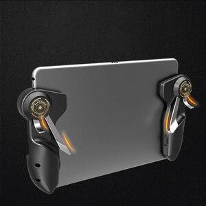 Image 1 - ฟรี Fire PUBG Mobile Joystick Controller Gamepad PUGB เกมมือถือ Trigger ปุ่ม L1R1 นักกีฬาเกม Pad สำหรับ iPad แท็บเล็ต