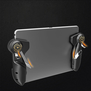 Image 1 - Free Fire PUBG Mobile Joystick Controller Gamepad PUGB Mobile Gaming Trigger Button L1R1 Shooter Phone Game Pad For iPad Tablet