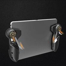 Gratis Brand Pubg Mobiele Joystick Controller Gamepad Pugb Mobiele Gaming Trigger Knop L1R1 Shooter Telefoon Game Pad Voor Ipad Tablet