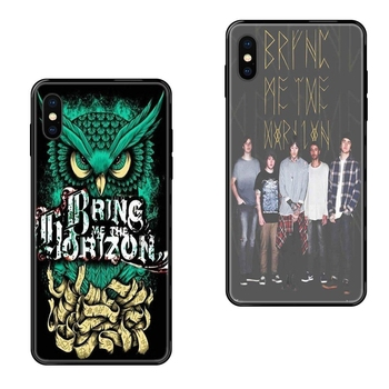 Good Sale Shop For Xiaomi Mi Note A1 A2 A3 5 5s 6 8 9 10 SE Lite Pro Ultra Bring Me The Horizon British Metalcore Bmth Art Diy image