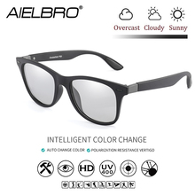 AIELBRO Brand Design Classic Polarized Sunglasses Men Women Driving Square Frame Sun Glasses Male Goggle UV400 Gafas De Sol square steampunk sunglasses men black brand designer trending gradient goggles sun glasses male uv400 lentes de sol hombre 3919