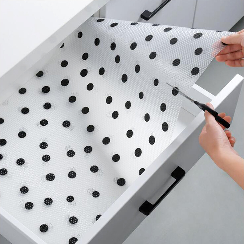 45*122 cm Drawer Mat Oil proof Moisture Kitchen Table  Shelf Liner Mats Cabinets Pad Paper Non Slip Waterproof Cupboard Placemat|Drawer & Shelf Liner| |  - title=
