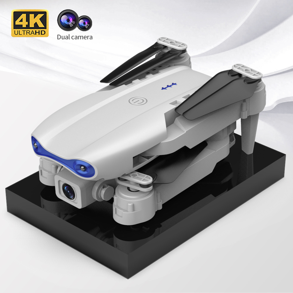 Mini Drone 4K HD Dual Camera Drone Selfie RC Helicopter Quadcopter Folding Arm K3 UAV Altitude Hold Mode Helicopter Toy For Kids