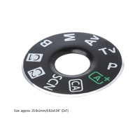 Camera Function Dial Mode Interface Cap Button Repair Parts For Canon EOS 6D New 746D