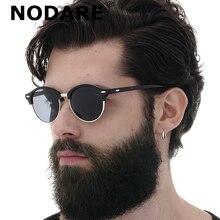 NODARE 2020 Classic Polarized Sunglasses Unisex Vintage Brand Design Round Sun G